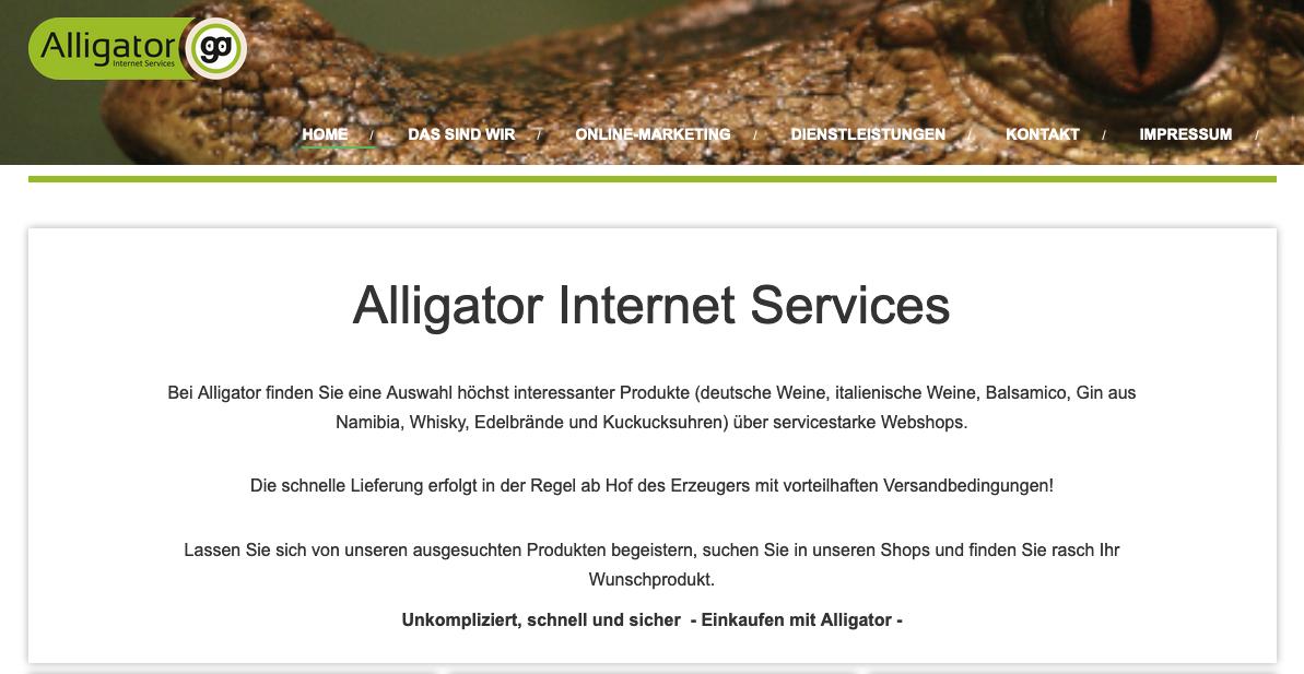 Alligator_neu.png – Cklein web & edv Service