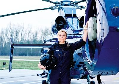 BPOL_Motive_solo_Flieger_Lisa.jpg - Bundespolizei, Einstellungsberatung Bunde