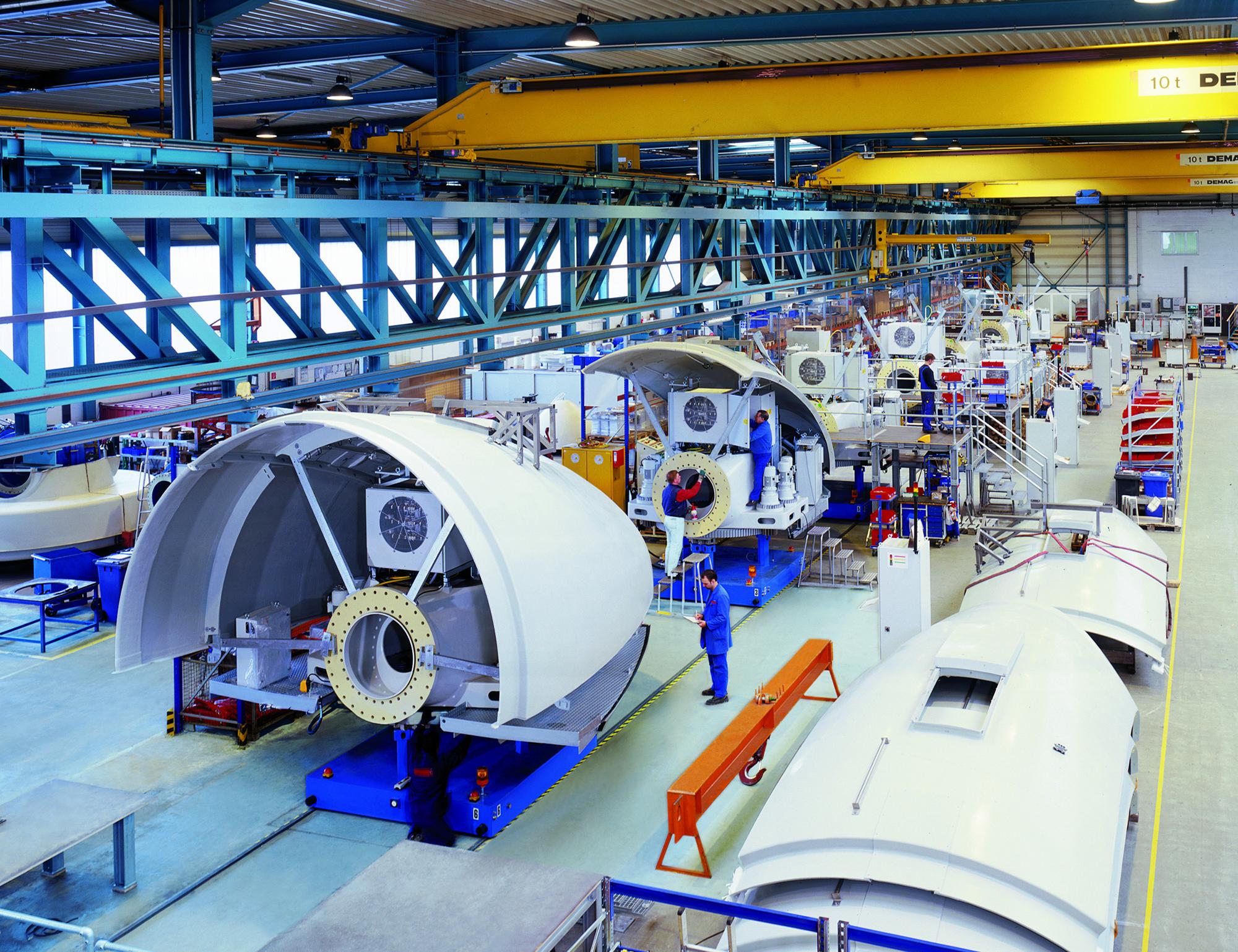 Einblicke in die Produktion.jpg – ENERCON