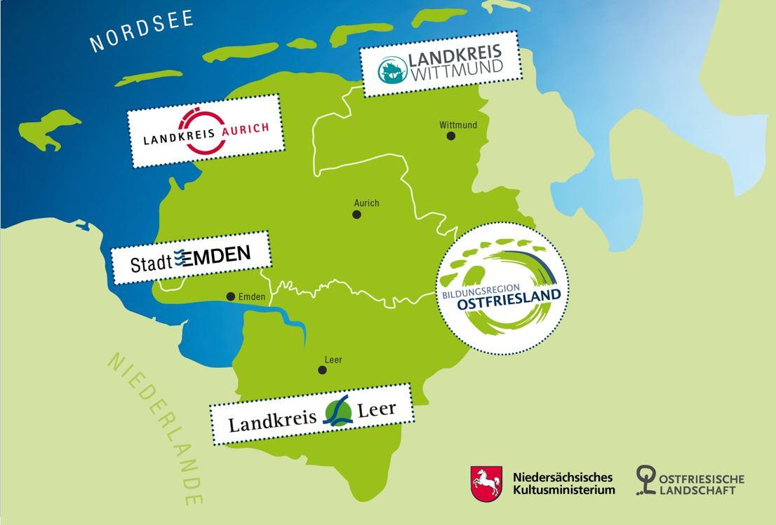 Landkarte.JPG – Bildungsregion Ostfriesland