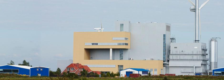 Kraftwerk.jpg – Klingele Papierwerke GmbH & Co. KG - Papierfabrik Weener