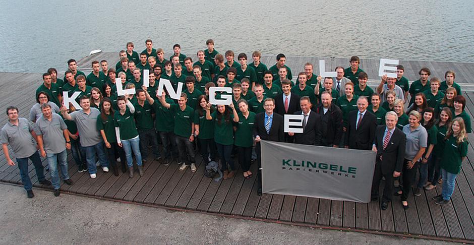 Bild Ausbildung.jpg – Klingele Papierwerke GmbH & Co. KG - Papierfabrik Weener