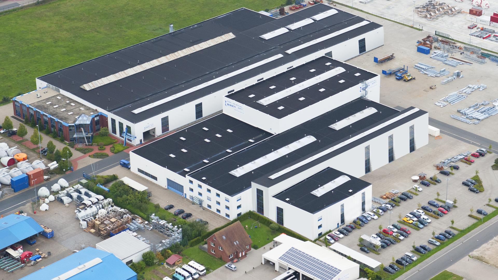 200812_Luftbild_diag_13-01-18 Ihnen Aurich Unternehmenspräsentation.jpg – Stahl- und Metallbau Ihnen GmbH & Co. KG