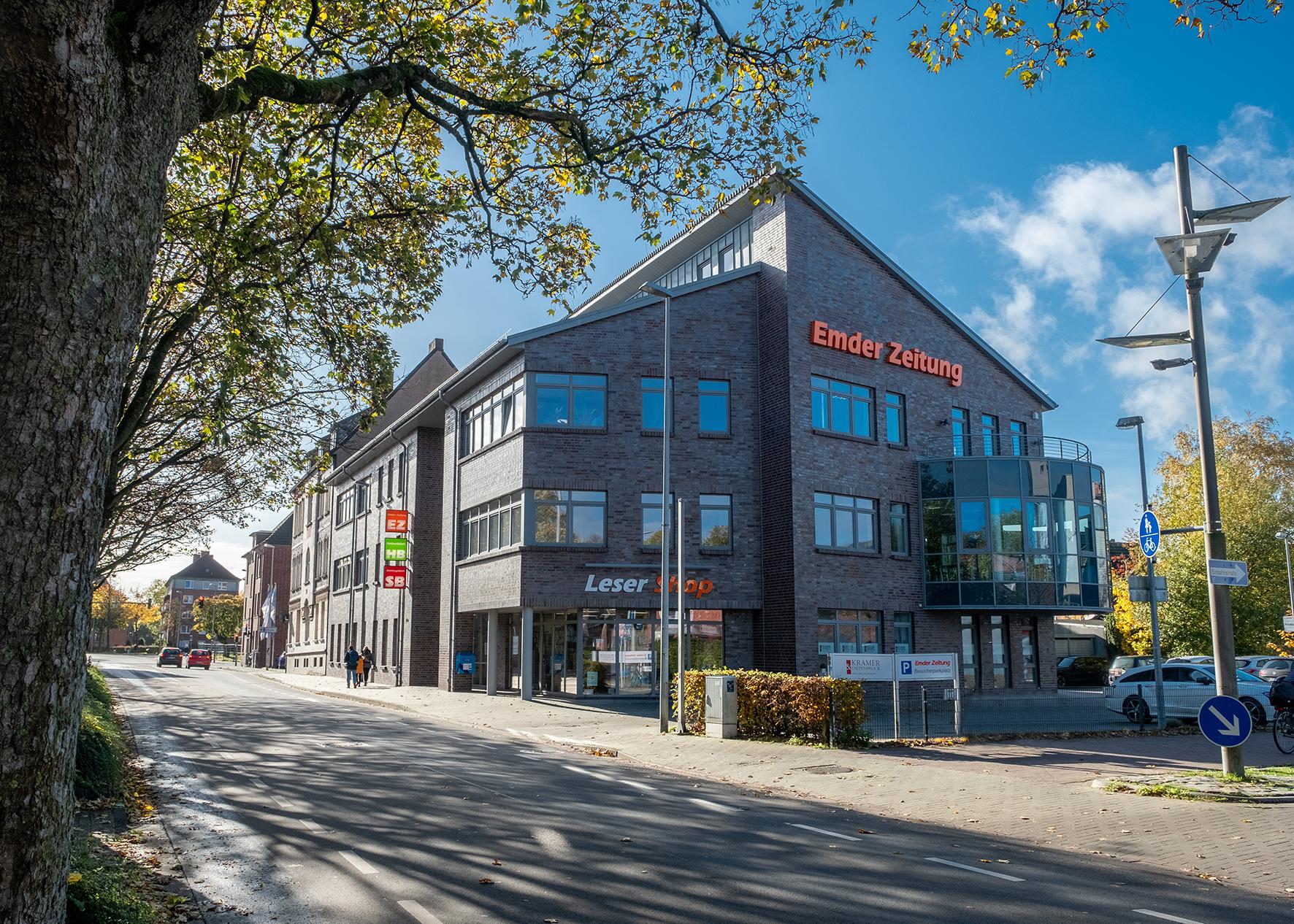 Emder Zeitung Gebäude EZ Verlag.jpg – Emder Zeitung GmbH & Co. KG