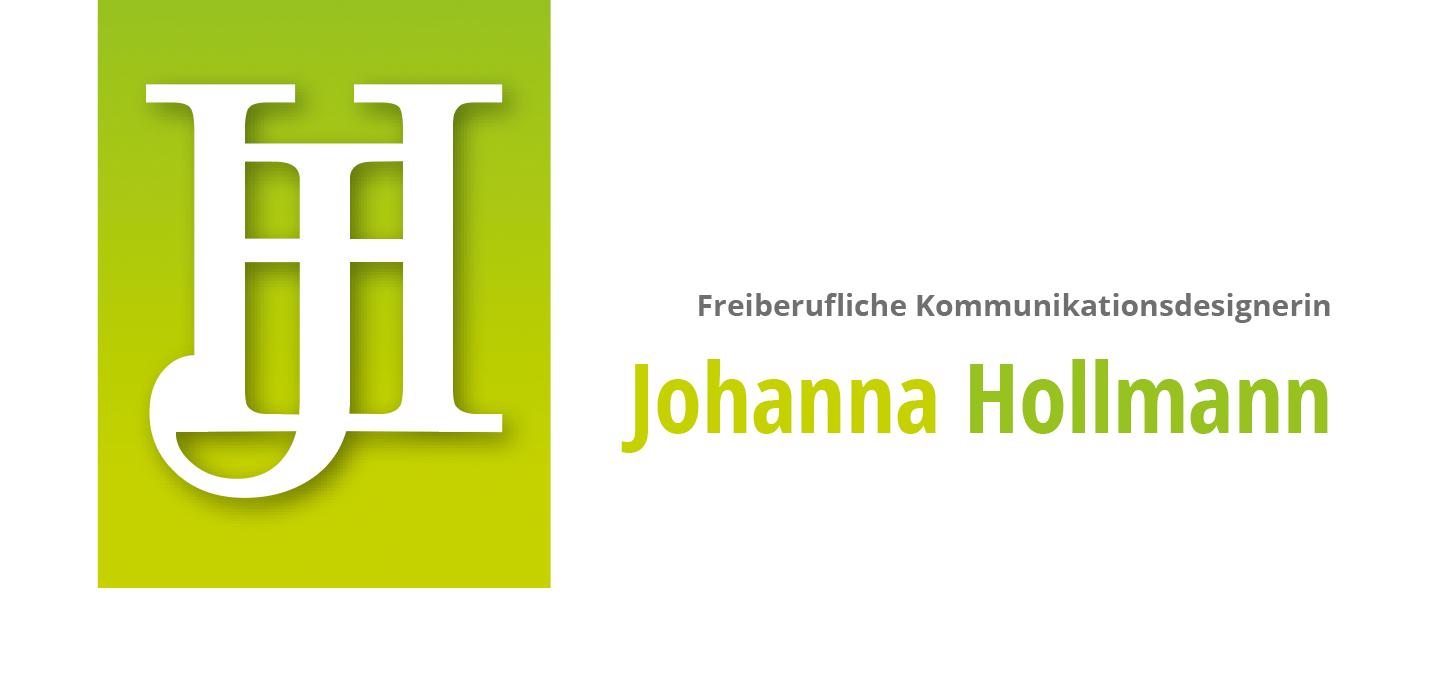 Freiberufliche Kommunikationsdesignerin Johanna Hollmann